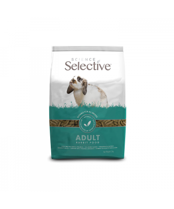 Feed/Treats &Forage  Science Selective Adult Pellets - 1.5KG (4.09) 1