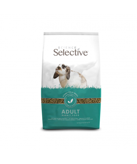 Feed/Treats &Forage  Science Selective Adult Pellets - 5KG (10.59) 1