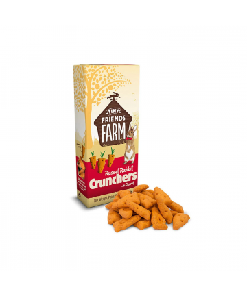 Feed/Treats &Forage  Russel Rabbit Crunchers Carrot (1.99) 1
