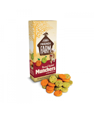 Feed/Treats &Forage  Russel Rabbit Munchers (1.99) 1