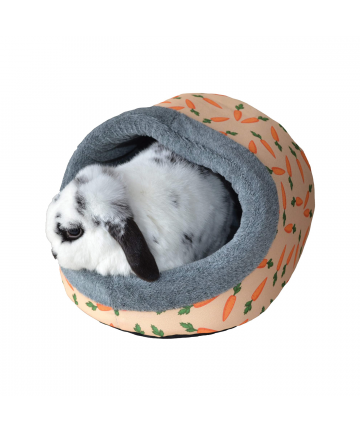 Housing  Carrot Plush Hooded Bed (18.79) 1