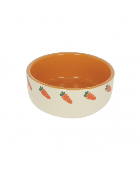 Ceramic Orange&Beige Carrot Bowl